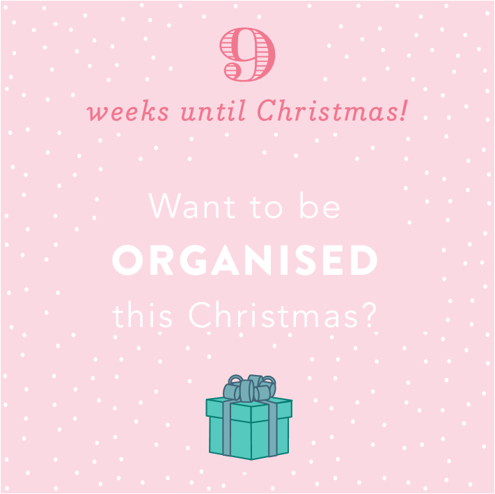 Christmas Countdown: 9 weeks until Christmas
