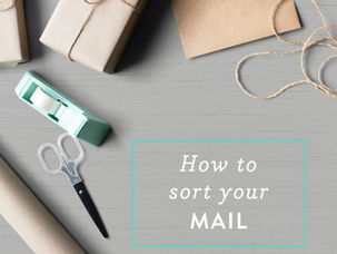 How to sort your mail