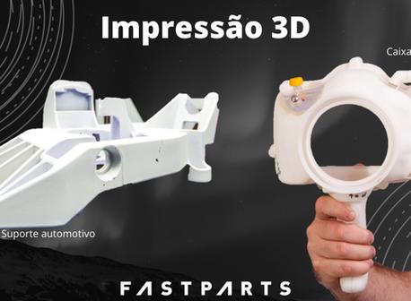 Impressão 3D,aFastpartstem!