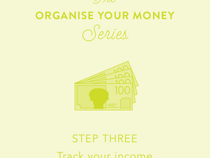 Organise your money: Day 3 - track your income