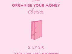 Organise your money: Day 6 - track your spending
