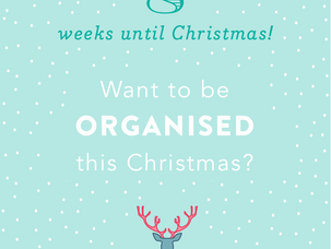 8 weeks until Christmas!