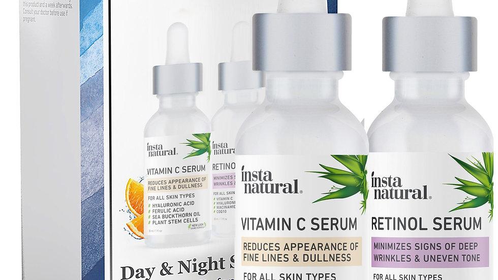 Day & Night Skin Duo - Retinol & Vitamin C