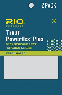 Rio Powerflex Plus Trout Leader 7.5' 2-Pack