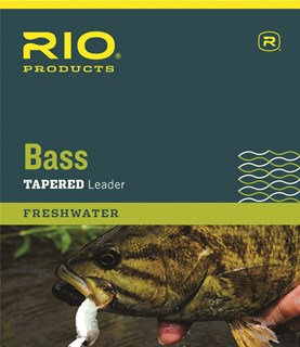 Rio Bass Tapered Leader 9' Single