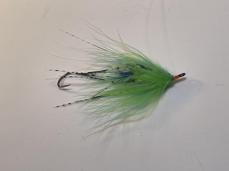 Hoh Bo Spey Chartreuse/Blue Sz. 2
