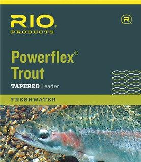 Rio Powerflex Trout Leaders 9' 3-Packs