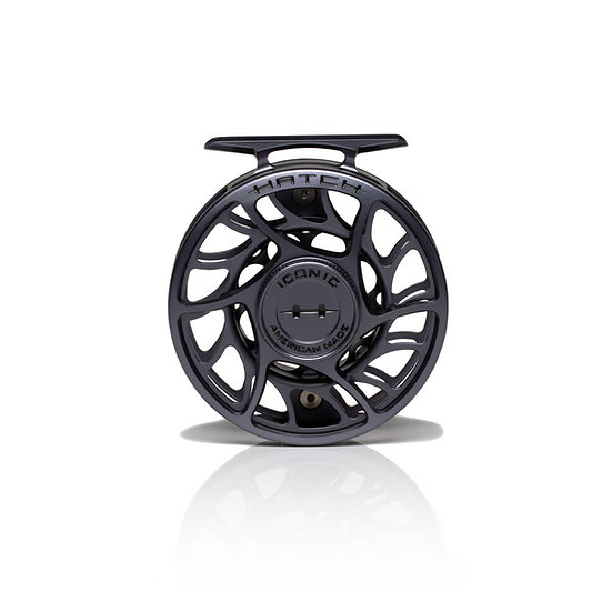 4 Plus Large Arbor Hatch Iconic Fly Reel