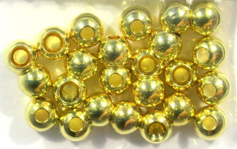 Cyclops Bead Eyes Gold