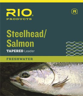 Rio Steelhead Tapered Leader 12' Single