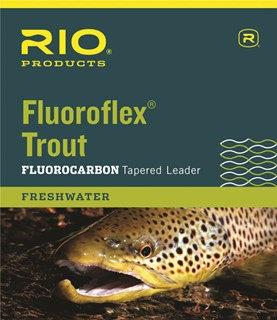 Rio Flouroflex Tapered Leaders 9' Single