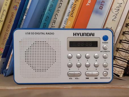 רדיו, דבר אלי!  (או: במה אתם מזינים את המוח שלכם?)