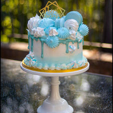 blue ombre treat
