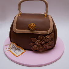 Fabric Handbag Large