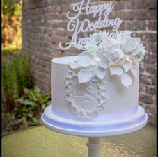 Anniversary Floral White