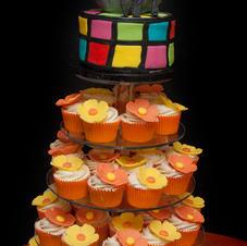 Disco Cupcake