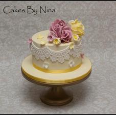Lemon Pink Floral
