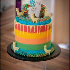 rainbow llama