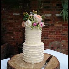 Rustric Strip Cake