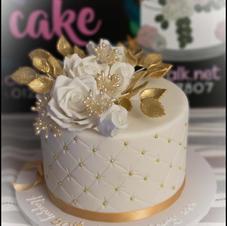 Single Anniversary Cake