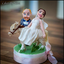horse wedding toppe