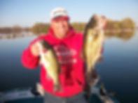 Spirit Lake fishing Largemouth bass