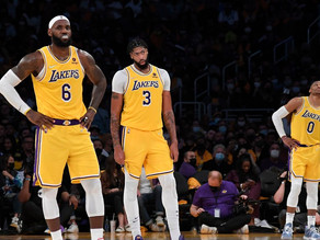 Lakers home opener was shattered by the Warriors