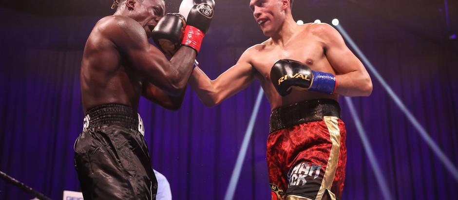 David Benavidez stays undefeated after defeating Ronald Ellis in the 11th