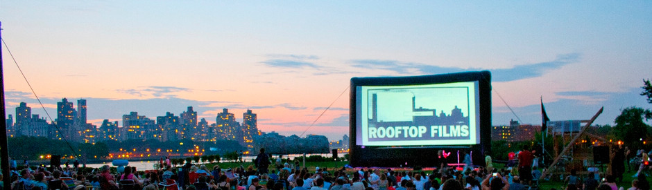 Rooftop Films will have special screenings to close out the summer