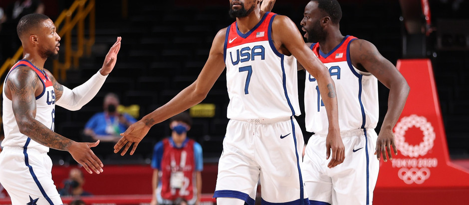 Kevin Durant went into metahuman mode to capture Gold for the USA Mens' Basketball team