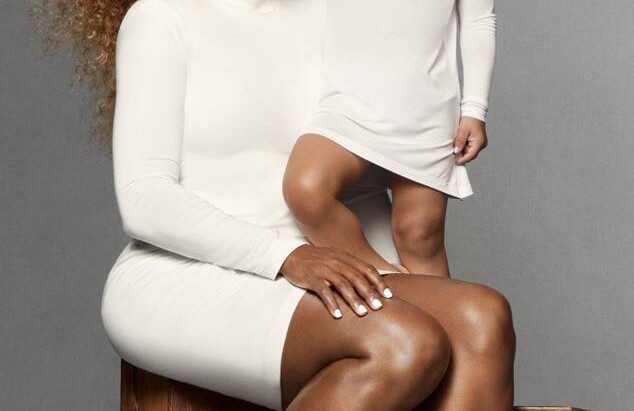 Serena Williams shares spotlight with her daughter in fashion campaign