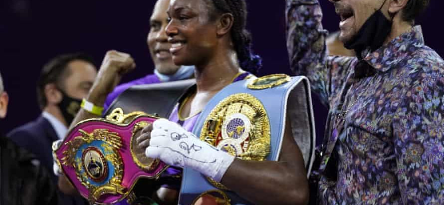 Claressa Shields continues to break history