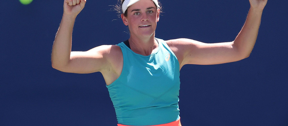 Jennifer Brady will face Naomi Osaka in the Australian Open Women's Finals