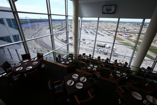 The Texas Motor Speedway Club reopens in May