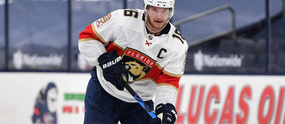 Florida Panthers gives super star a huge deal before the NHL season starts