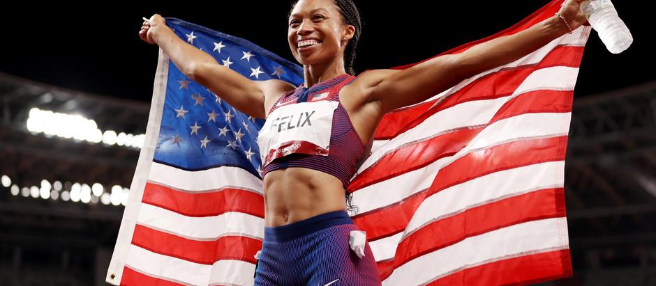 Allyson Felix Breaks Olympic history