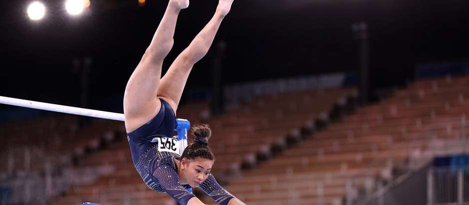 Despite a few hiccups in her routine, Suni Lee wins Bronze in Bars