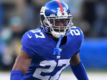 Giants released cornerback DeAndre Baker