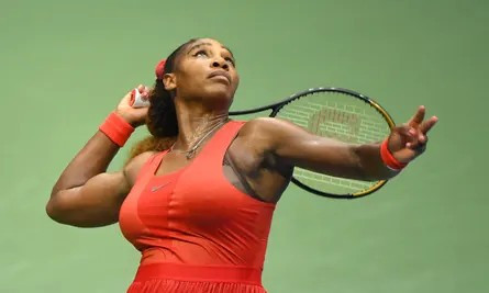 Serena Williams survives a late comeback from Margarita Gasparyan to advance to the next round