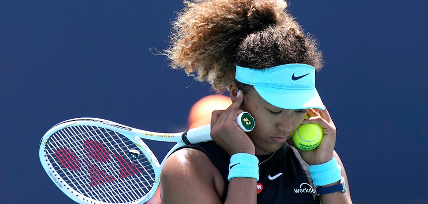 Naomi Osaka stunned in Miami Open tournament