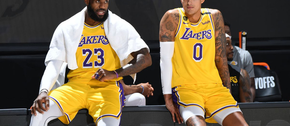 Lakers' were hot from behind the arc, as they defeated the Bucks 113-106