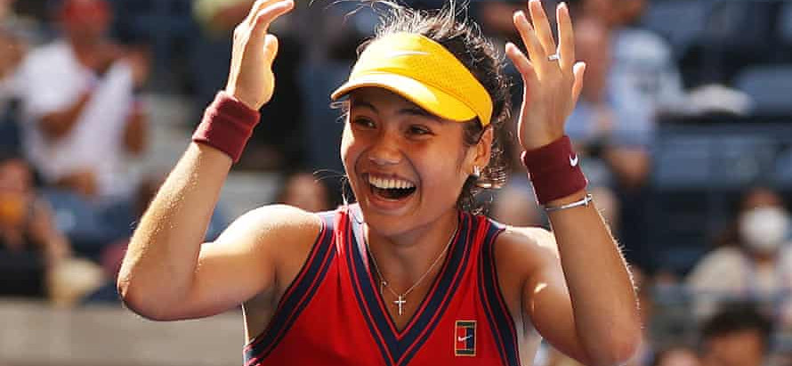 Emma Radcanu wins her first US Open Championship