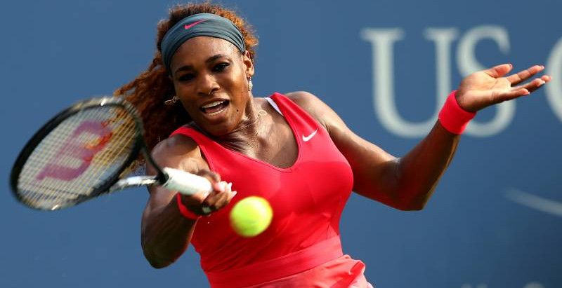 Serena Williams escapes a trap game against Sloane Stephens and moves on to the next round