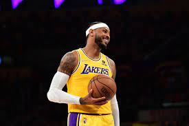 Carmelo Anthony saves the Lakers as they finally get their first win of the season