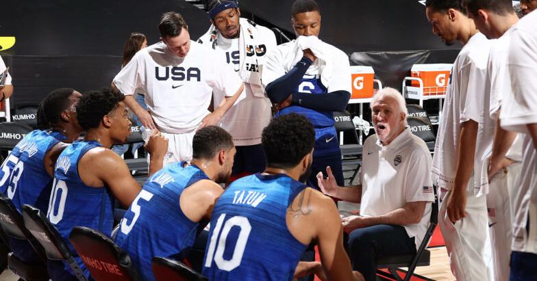 Team USA steamrolls over Argentina to quiet critics 108-80