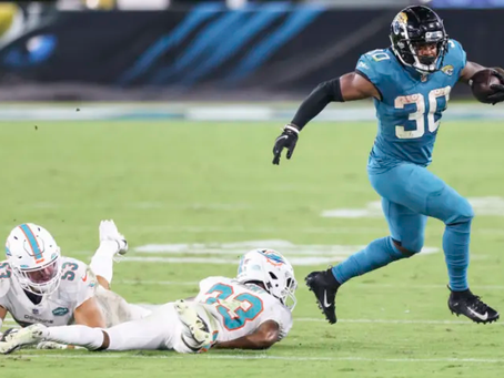 Jaguars' Running Back James Robinson named Rookie of the Month