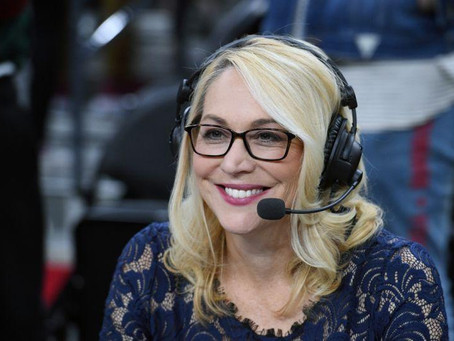 Doris Burke breaks history as the first woman to call NBA Conference Finals as a game analyst