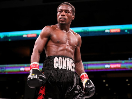 Charles Conwell stays unbeaten with a ninth round knockout of Wendy  Toussain