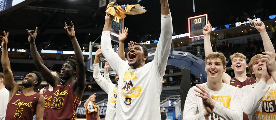 Loyola Chicago continues to shine, as they defeated No.1 seed Illinois 71-58