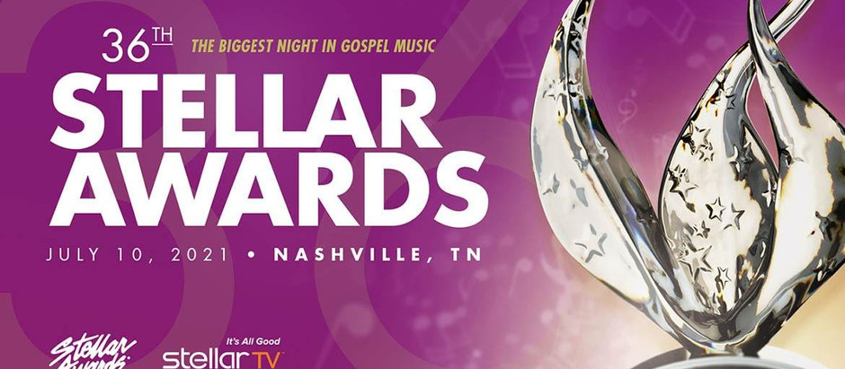 The 36th annual Stellar Gospel Music Awards will broadcast on BET, August 1